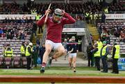 16 March 2019; Padraig Mannion of Galway leads out his team ahead of the Allianz Hurling League Division 1 Quarter-Final match between Galway and Wexford at Pearse Stadium in Salthill, Galway. Photo by Sam Barnes/Sportsfile