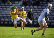 16 March 2019; Conor McDonald of Wexford shoots to score their side's first goal during the Allianz Hurling League Division 1 Quarter-Final match between Galway and Wexford at Pearse Stadium in Salthill, Galway. Photo by Sam Barnes/Sportsfile