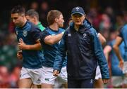 16 March 2019; Ireland head coach Joe Schmidt ahead of the Guinness Six Nations Rugby Championship match between Wales and Ireland at the Principality Stadium in Cardiff, Wales. Photo by Ramsey Cardy/Sportsfile