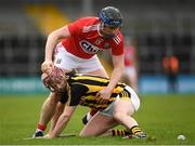 16 March 2019; Ciáran Wallace of Kilkenny in action against Conor Lehane of Cork during the Allianz Hurling League Division 1 Relegation Play-Off match between Kilkenny and Cork at Nowlan Park in Kilkenny. Photo by Harry Murphy/Sportsfile