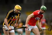16 March 2019; Billy Ryan of Kilkenny in action against Darren Browne of Cork during the Allianz Hurling League Division 1 Relegation Play-Off match between Kilkenny and Cork at Nowlan Park in Kilkenny. Photo by Harry Murphy/Sportsfile