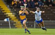 16 March 2019; Gary Cooney of Clare in action against Noel Connors of Waterford during the Allianz Hurling League Division 1 Quarter-Final match between Waterford and Clare at Walsh Park in Waterford. Photo by Matt Browne/Sportsfile