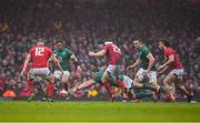 16 March 2019; CJ Stander of Ireland attempts to gain possession during the Guinness Six Nations Rugby Championship match between Wales and Ireland at the Principality Stadium in Cardiff, Wales. Photo by Brendan Moran/Sportsfile