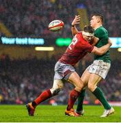 16 March 2019; Garry Ringrose of Ireland is tackled by Owen Watkin of Wales during the Guinness Six Nations Rugby Championship match between Wales and Ireland at the Principality Stadium in Cardiff, Wales. Photo by Brendan Moran/Sportsfile