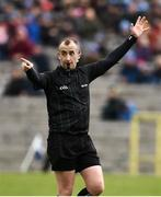 16 March 2019; Referee Brendan Cawley during the Allianz Football League Division 1 Round 6 match between Monaghan and Cavan at St Tiernach's Park in Clones, Monaghan. Photo by Oliver McVeigh/Sportsfile