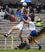 16 March 2019; Conor Madden of Cavan in action against Drew Wylie of Monaghan during the Allianz Football League Division 1 Round 6 match between Monaghan and Cavan at St Tiernach's Park in Clones, Monaghan. Photo by Oliver McVeigh/Sportsfile