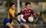 16 March 2019; Shane Walsh of Galway in action against Conor Daly of Roscommon during the Allianz Football League Division 1 Round 6 match between Galway and Roscommon at Pearse Stadium in Salthill, Galway. Photo by Sam Barnes/Sportsfile