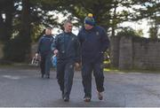 16 March 2019; Tipperary manager Liam Sheedy and selector Darragh Egan return from the warm-up ahead of the Allianz Hurling League Division 1 Quarter-Final match between Tipperary and Dublin at Semple Stadium in Thurles, Tipperary. Photo by Daire Brennan/Sportsfile