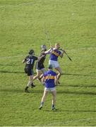 16 March 2019; Séamus Callanan of Tipperary in action against Seán Moran of Dublin during the Allianz Hurling League Division 1 Quarter-Final match between Tipperary and Dublin at Semple Stadium in Thurles, Tipperary. Photo by Daire Brennan/Sportsfile
