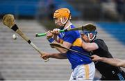16 March 2019; Mark Kehoe of Tipperary in action against Paddy Smyth of Dublin during the Allianz Hurling League Division 1 Quarter-Final match between Tipperary and Dublin at Semple Stadium in Thurles, Tipperary. Photo by Daire Brennan/Sportsfile