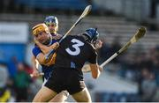 16 March 2019; Séamus Callanan of Tipperary in action against Eoghan O'Donnell of Dublin during the Allianz Hurling League Division 1 Quarter-Final match between Tipperary and Dublin at Semple Stadium in Thurles, Tipperary. Photo by Daire Brennan/Sportsfile
