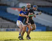 16 March 2019; Seán Moran of Dublin in action against John O'Dwyer of Tipperary during the Allianz Hurling League Division 1 Quarter-Final match between Tipperary and Dublin at Semple Stadium in Thurles, Tipperary. Photo by Daire Brennan/Sportsfile