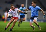 16 March 2019; Niall Sludden of Tyrone in action against Cian O'Connor of Dublin during the Allianz Football League Division 1 Round 6 match between Dublin and Tyrone at Croke Park in Dublin. Photo by David Fitzgerald/Sportsfile