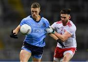 16 March 2019; Paul Mannion of Dublin in action against Pádraig Hampsey of Tyrone during the Allianz Football League Division 1 Round 6 match between Dublin and Tyrone at Croke Park in Dublin. Photo by Piaras Ó Mídheach/Sportsfile