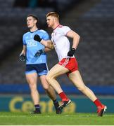 16 March 2019; Cathal McShane of Tyrone celebrates after scoring his side's first goal during the Allianz Football League Division 1 Round 6 match between Dublin and Tyrone at Croke Park in Dublin. Photo by David Fitzgerald/Sportsfile
