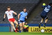 16 March 2019; Cathal McShane of Tyrone scores his side's first goal during the Allianz Football League Division 1 Round 6 match between Dublin and Tyrone at Croke Park in Dublin. Photo by David Fitzgerald/Sportsfile