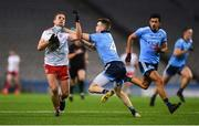 16 March 2019; Niall Sludden of Tyrone is tackled by Cian O'Connor of Dublin during the Allianz Football League Division 1 Round 6 match between Dublin and Tyrone at Croke Park in Dublin. Photo by David Fitzgerald/Sportsfile