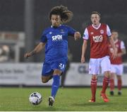 15 March 2019; Bastien Hery of Waterford FC during the SSE Airtricity League Premier Division match between Waterford and St Patrick's Athletic at the RSC in Waterford. Photo by Matt Browne/Sportsfile