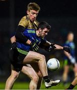 16 March 2019; Brendan Harrison of Mayo in action against Tommy Walsh of Kerry during the Allianz Football League Division 1 Round 6 match between Kerry and Mayo at Austin Stack Park in Tralee, Co. Kerry. Photo by Diarmuid Greene/Sportsfile