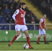 15 March 2019; David Webster of St Patrick's Athletic during the SSE Airtricity League Premier Division match between Waterford and St Patrick's Athletic at the RSC in Waterford. Photo by Matt Browne/Sportsfile