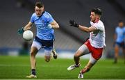 16 March 2019; Cian O'Connor of Dublin in action against Matthew Donnelly of Tyrone during the Allianz Football League Division 1 Round 6 match between Dublin and Tyrone at Croke Park in Dublin. Photo by David Fitzgerald/Sportsfile