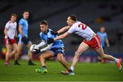 16 March 2019; Jonny Cooper of Dublin in action against Colm Cavanagh of Tyrone during the Allianz Football League Division 1 Round 6 match between Dublin and Tyrone at Croke Park in Dublin. Photo by David Fitzgerald/Sportsfile