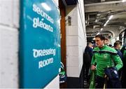 17 March 2019; Colin Fennelly of Ballyhale Shamrocks arrives before the AIB GAA Hurling All-Ireland Senior Club Championship Final match between Ballyhale Shamrocks and St Thomas' at Croke Park in Dublin. Photo by Piaras Ó Mídheach/Sportsfile