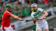 17 March 2019; TJ Reid of Ballyhale Shamrocks in action against David Burke of St Thomas' during the AIB GAA Hurling All-Ireland Senior Club Championship Final match between Ballyhale Shamrocks and St Thomas' at Croke Park in Dublin. Photo by Piaras Ó Mídheach/Sportsfile