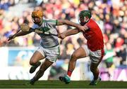 17 March 2019; Colin Fennelly of Ballyhale Shamrocks in action against Fintan Burke of St Thomas' during the AIB GAA Hurling All-Ireland Senior Club Championship Final match between Ballyhale Shamrocks and St Thomas' at Croke Park in Dublin. Photo by Harry Murphy/Sportsfile