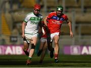 17 March 2019; Adrian Mullen of Ballyhale Shamrocks in action against David Burke of St Thomas' during the AIB GAA Hurling All-Ireland Senior Club Championship Final match between Ballyhale Shamrocks and St Thomas' at Croke Park in Dublin. Photo by Harry Murphy/Sportsfile