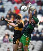 17 March 2019; Tony Brosnan of Dr. Crokes' in action against Bernard Power of Corofin during the AIB GAA Football All-Ireland Senior Club Championship Final match between Corofin and Dr Crokes at Croke Park in Dublin. Photo by Harry Murphy/Sportsfile