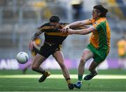 17 March 2019; Micheál Burns of Dr. Crokes' in action against Kieran Molloy of Corofin during the AIB GAA Football All-Ireland Senior Club Championship Final match between Corofin and Dr Crokes at Croke Park in Dublin. Photo by Harry Murphy/Sportsfile