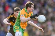 17 March 2019; Gary Sice of Corofin in action against David O'Leary of Dr. Crokes' during the AIB GAA Football All-Ireland Senior Club Championship Final match between Corofin and Dr Crokes' at Croke Park in Dublin. Photo by Piaras Ó Mídheach/Sportsfile