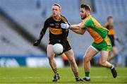 17 March 2019; Colm Cooper of Dr. Crokes' in action against Micheál Lundy of Corofin during the AIB GAA Football All-Ireland Senior Club Championship Final match between Corofin and Dr Crokes' at Croke Park in Dublin. Photo by Piaras Ó Mídheach/Sportsfile