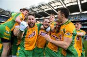 17 March 2019; Corofin players celebrate following the AIB GAA Football All-Ireland Senior Club Championship Final match between Corofin and Dr Crokes at Croke Park in Dublin. Photo by Harry Murphy/Sportsfile