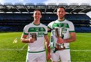 17 March 2019; Colin Fennelly, left, AIB Man of the Match, with his brother Michael Fennelly, team captain, as they celebrate after Ballyhale Shamrocks won the AIB GAA Hurling All-Ireland Senior Club Championship Final match between Ballyhale Shamrocks and St Thomas' at Croke Park in Dublin. Photo by Piaras Ó Mídheach/Sportsfile