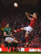 16 March 2019; Liam Williams of Wales in action against Jacob Stockdale of Ireland during the Guinness Six Nations Rugby Championship match between Wales and Ireland at the Principality Stadium in Cardiff, Wales. Photo by Brendan Moran/Sportsfile