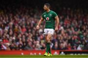 16 March 2019; Rob Kearney of Ireland during the Guinness Six Nations Rugby Championship match between Wales and Ireland at the Principality Stadium in Cardiff, Wales. Photo by Brendan Moran/Sportsfile