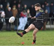 17 March 2019; Liam Caddy of Kilkenny RFC during the Bank of Ireland Leinster Provincial Towns Cup Quarter-Final match between Longford RFC and Kilkenny RFC at Longford RFC in Longford. Photo by Matt Browne/Sportsfile
