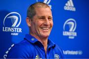 18 March 2019; Senior coach Stuart Lancaster during a Leinster Rugby press conference at Leinster Rugby Headquarters in UCD, Dublin. Photo by Ramsey Cardy/Sportsfile