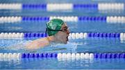 18 March 2019; Team Ireland's Jack McFadden, a member of the Phoenix Flyers SO Club,from Dublin 15, Co. Dublin, on his way to winning a Gold Medal in the 200m breaststroke, in a time of 3:06.15, at the Hamdan Sports Complex on Day Four of the 2019 Special Olympics World Games in the Abu Dhabi National Exhibition Centre, Abu Dhabi, United Arab Emirates. Photo by Ray McManus/Sportsfile