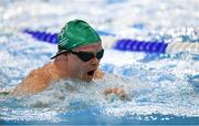 18 March 2019; Team Ireland's Peadar Connolly, a member of Newry City SOC, from Newry, Co. Down, competing in the 200m breaststroke at the Hamdan Sports Complex on Day Four of the 2019 Special Olympics World Games in the Abu Dhabi National Exhibition Centre, Abu Dhabi, United Arab Emirates. Photo by Ray McManus/Sportsfile