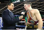 17 March 2019; Michael Conlan after defeating Ruben Garcia Hernandez in their featherweight bout at the Madison Square Garden Theater in New York, USA. Photo by Mikey Williams/Top Rank/Sportsfile