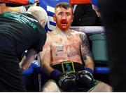 17 March 2019; Paddy Barnes during his bantamweight bout against Oscar Mojica at the Madison Square Garden Theater in New York, USA. Photo by Mikey Williams/Top Rank/Sportsfile