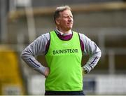 19 March 2019; St Michael's Enniskillen manager Dominic Corrigan during the Danske Bank MacRory Cup Final match between St Michael's Enniskillen and Omagh CBS at the Athletic Grounds in Armagh. Photo by Oliver McVeigh/Sportsfile