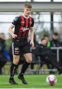 9 March 2019; Alex Kelly of Bohemians during the SSE Airtricity Under-19 National League match between Bohemians and Sligo Rovers at IT Blanchardstown in Blanchardstown, Dublin. Photo by Harry Murphy/Sportsfile