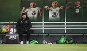 19 March 2019; Shane Long watches on from the bench during a Republic of Ireland training session at the FAI National Training Centre in Abbotstown, Dublin. Photo by Stephen McCarthy/Sportsfile