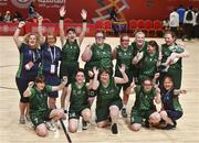 19 March 2019; Team Ireland's squad and officials celebrate after their 27-15 win to capture the Gold Medal for Basketball on Day Five of the 2019 Special Olympics World Games in the Abu Dhabi National Exhibition Centre, Abu Dhabi, United Arab Emirates.