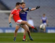 2 February 2019; Declan Byrne of Louth in action against Ross Munnelly of Laois during the Allianz Football League Division 3 Round 2 match between Laois and Louth at Croke Park in Dublin. Photo by Piaras Ó Mídheach/Sportsfile
