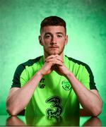 19 March 2019; Mark Travers of Republic of Ireland poses for a portrait during a squad portrait session at their team hotel in Dublin. Photo by Stephen McCarthy/Sportsfile